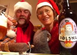 God solsnu og god jul frå Reksta Villsau!