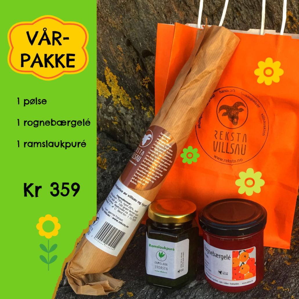 Vårpakke Reksta Villsau - www.reksta.no