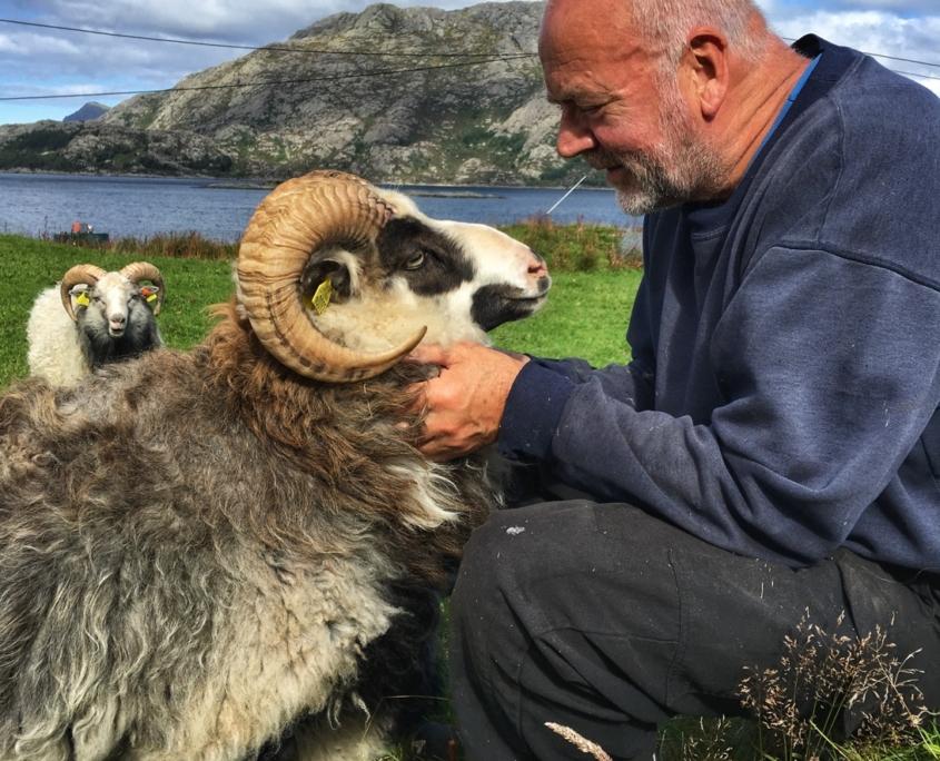 Kosevêr og Lars Erik har god kontakt