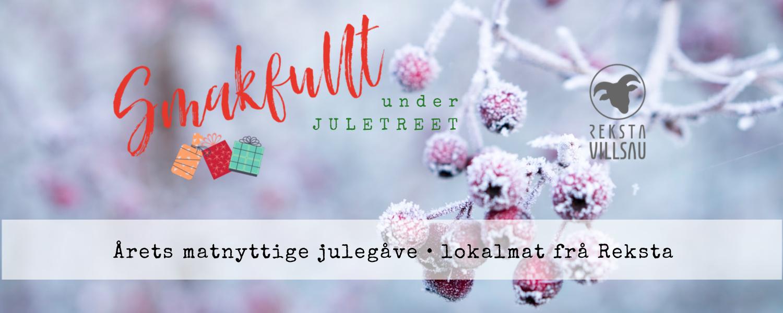 Årets matnyttige julegåve frå Reksta - reksta.no